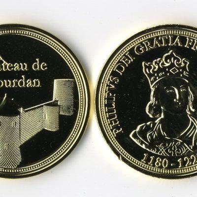 Medaille_chateau_Dourdan