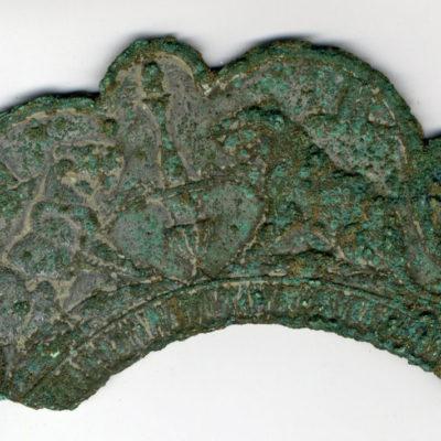 Parure, bronze, site archéologique Rue Minot (Dourdan), Ier-IVe siècles © Musée du château de Dourdan