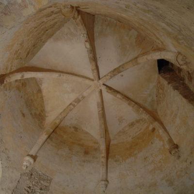 Voûte sur croisée d'ogives du donjon © Musée du château de Dourdan / AD91-Yves Morelle