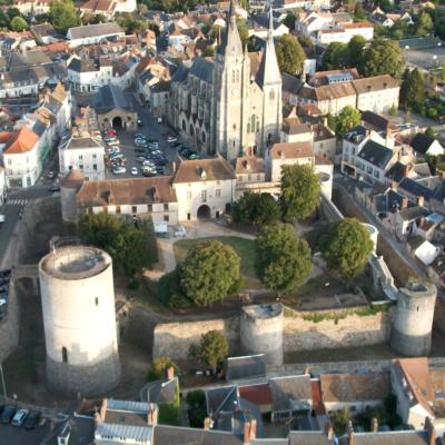 Le château de Dourdan, élévation © Ville de Dourdan