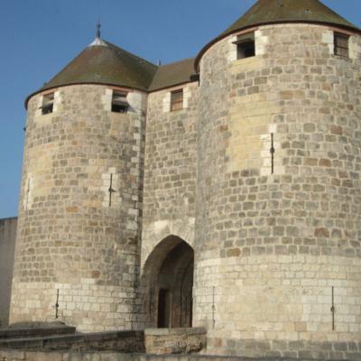 Châtelet ou ouvrage d'entrée © Musée du château de Dourdan / François Poche