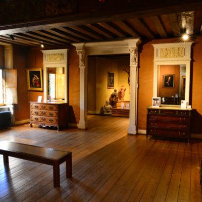 Ancien salon de la demeure de Joseph Guyot, actuelle salle dite hôtel-Dieu © Nicolas Piroux