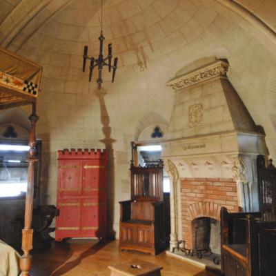 Salle néo-gothique © François Poche