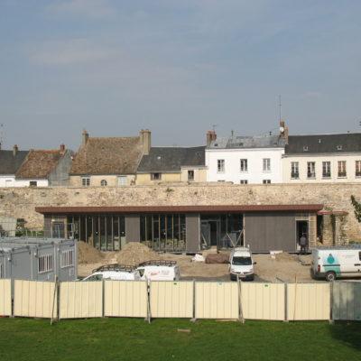 Huisseries et bardage © Musée du château de Dourdan