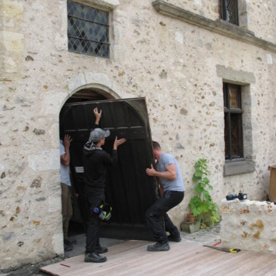 Porte maison-musée © Musée du château de Dourdan