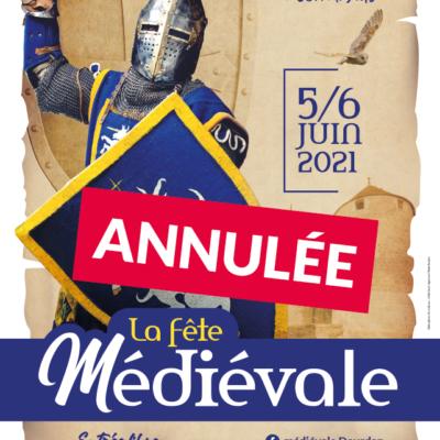 Affiche_Fete_medievale_2021_Dourdan_annulee