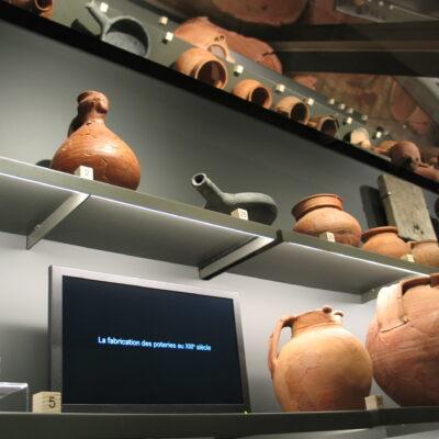 Salle-archeologie-Musee-chateau-Dourdan